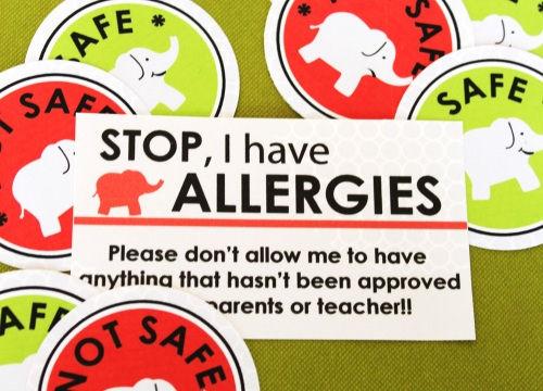 Allergy Card
